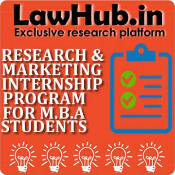 Research & Marketing Internship Program for Management Students.