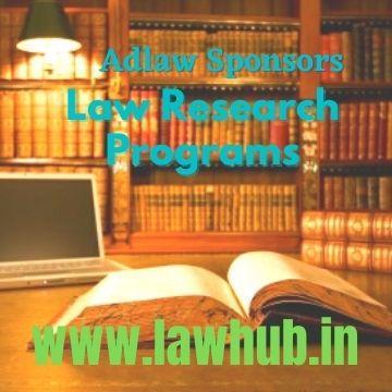 Adlaw Sponsors Law Research Programs